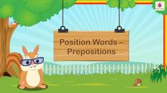 Position Words 'Preposition' For Kids | Grammar Grade 1 | Periwinkle