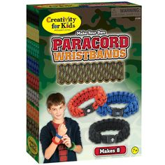 Make Your Own Paracord Wristbands - Everything you need to make 8 trendy paracord wristbands