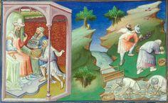 Marco Polo, Le Livre des merveilles  Date d'édition :  1400-1420  Date d'édition :  1470-1475  Français 2810  Folio 54r