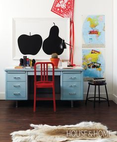 Quirky Bedroom Desk | House & Home