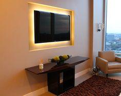 14 Inspirações de TV LED na Decoração de Casa