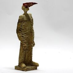 Birdman 34/ Ceramic Sculpture/ Man/ Unique Ceramic Figurine by arekszwed on Etsy