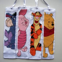 Anchor Disney Cross stitch bookmarks.                                                                                                                                                                                 More