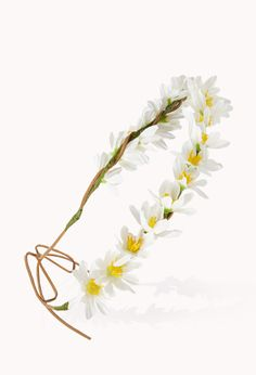 Daisy Flower Crown #FlowerCrown #Accessories #Daisies