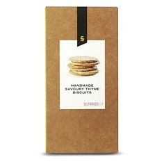 Thyme savoury biscuits
