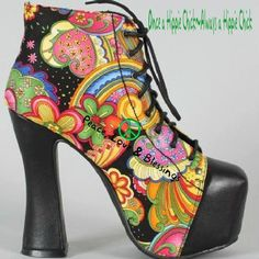 Awesome 1970's style shoe. I love this!
