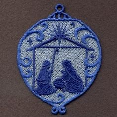 FSL Nativity Ornaments 2 - 4x4 | What's New | Machine Embroidery Designs | SWAKembroidery.com Ace Points Embroidery