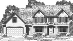 Eplans Country House Plan - Four Bedroom Country - 2258 Square Feet and 4 Bedrooms from Eplans - House Plan Code HWEPL73782