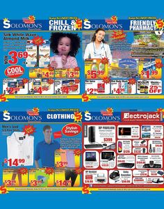 September to Remember Savings @ Solomon's Super Center, Always The Lowest Prices!