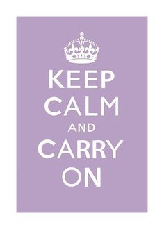 I'm making a keep calm wall. I don't want it framed, and it can be any size as long as it has  rectangle shape. Screenprinted, cut out, painted, drawn, printed, whatever style as long as it can go on the wall =]