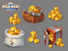 Wild West: New Frontier Wild West: New Frontier by Social Quantum Game Gui, Game Icon, Game Ui Design, Icon Design, Wild West New Frontier, Cartoon Tutorial, Casual Art, Low Poly Games, Mobile Icon