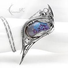 Jewelry Making – Fine Sea Glass Jewelry Sea Glass Jewelry, Copper Jewelry, Wire Jewelry, Jewelery, Jewellery Rings, Jewelry Shop, Jewelry Ideas, Diy Necklace Making, Jewelry Making