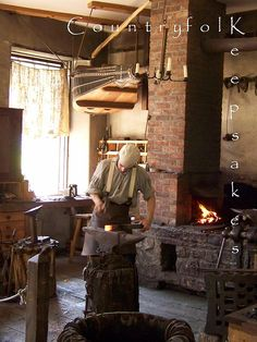 Blacksmith. The Farmers' Museum, Cooperstown, New York.