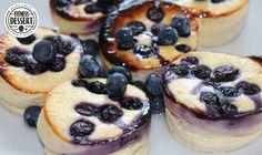 Blaubeeren Quark Muffins | FITNESS-DESSERT.DE