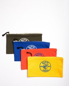 "Klein Tools 12"" Canvas Zipper Bags"