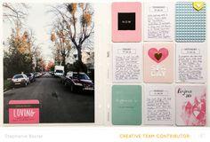 Project Life 2015 | Week 1 by *paperandglue* at @studio_calico - 9x12 Handbook