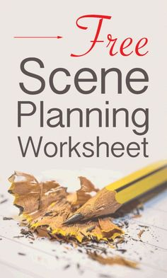 Scene planning worksheets will give you a simple framework to brainstorm your ideas so you will be ready when you actually have time to write. Writing A Book Outline, Book Writing Tips, Writing Help, Writing Ideas, Writing Prompts, Writing Jobs, Writing Poetry, Kids Writing, Start Writing