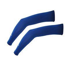 Compression Arm Sleeve For Men Women UV Sun Protection Tactel Aqua Fabric 1 Pair (Large, Navy) Scavor http://www.amazon.com/dp/B00XQUIV7U/ref=cm_sw_r_pi_dp_.DSDvb1CPDEYV
