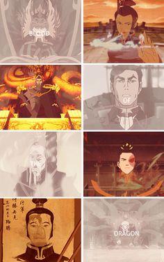 Avatar the Last Airbender/ Legend of Korra: blood of the dragon