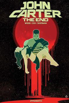 Dynamite® John Carter: The End Trade Paperback - W.B.