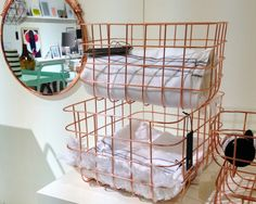 Wired storage by House Doctor - A Walk Through Maison&Objet January 2014 (part 2)   flodeau.com