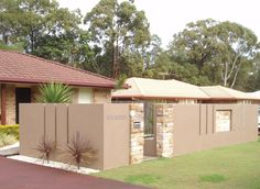 Rendered Block & Brick Fences  - Brock's Brick Block And Crete Scapes, Fencing Construction, Kallangur, QLD, 4503 - TrueLocal