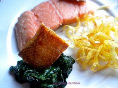 Saumon confit aux agrumes et croustillants de pommes de terre 3