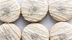 Lemony Slice-And-Bakes Recipe Lemon Slice-And Bake cookies- Bon Appetite Lemon Dessert Recipes, Easy Cookie Recipes, Baking Recipes, Cookie Ideas, Christmas Recipes, Yummy Recipes, Recipies, Lemon Cookies, No Bake Cookies