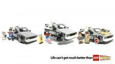 Back To the future X Lego #delorean