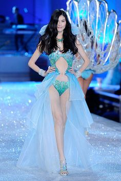 : The under-the-sea portion of the Victoria's Secret Fashion Show.