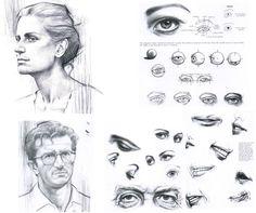 Facial features