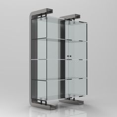 Display Cabinet C Channel Render