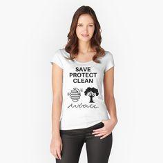 'Turvavali Teema Fitted Scoop T-Shirt by hurmerinta T-shirt Gamer, Georgia, Kawaii, All Family, Boho, Alone, My T Shirt, Chiffon Tops, Classic T Shirts