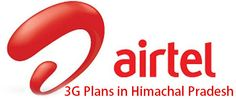 Airtel 3G Plans in Himachal Pradesh for Prepaid users