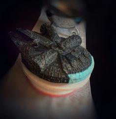Starwars Millennium Falcon Cake