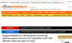 """Emprendedores valencianos crean un sistema para conocer la """"opinión real"""" del cliente antes de que se vaya http://ecodiario.eleconomista.es/espana/noticias/6028455/08/14/Emprendedores-valencianos-crean-un-sistema-para-conocer-la-opinion-real-del-cliente-antes-de-que-se-vaya.html#.Kku8LkO0OVGxhLB"""