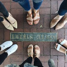 When the shoe game was strong back then in Santa Barbara with my @bloguettes girls!  #takemeback #shoesporn