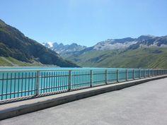 Barrage de Moiry, Valais, Suisse