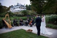 Marriage at The Mount, Edith Wharton's Home - Lenox, MA - Exchange vows and mingle with loved ones against the backdrop of The Mount's colorful, award-winning formal gardens or the elegant interior of Edith Wharton's historic mansion. Spanning nearly 50 acres, the gracious, spectacular estate is the perfect setting for an unforgettable wedding.