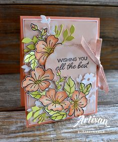 Blended Seasons Stamp Set, Stitched Seasons Framelits, Color Your Season Stampin' Up! Hand Made Greeting Cards, Making Greeting Cards, Greeting Cards Handmade, Pineapple Punch, 3d Fantasy, Stampin Up Catalog, Stamping Up Cards, Handmade Greetings, Card Sketches