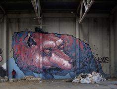 Os Murais Gigantes de Aryz