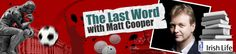 The Last Word with Matt Cooper - drive-time chat starts here at - QUESTION like there's no tomorrow Drive Time, Play, This Or That Questions, Words, Character, Lettering, Horse