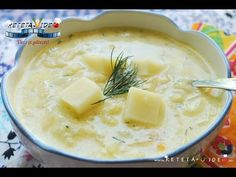 SUPA DE GULII - YouTube Soul Food, Cheeseburger Chowder, Camembert Cheese, Mashed Potatoes, Food To Make, Dairy, Sweets, Cooking, Ethnic Recipes