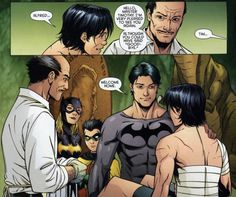 Red Robin #12 - Welcome home.