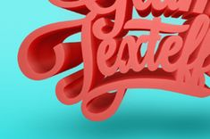 Glams is a very bold and impressive photoshop 3D text effect with a clean style that will make your text pops...