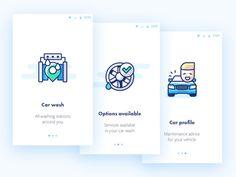 Onboarding Car Wash app