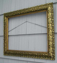 antique aesthetic victorian eastlake very ornate picture frame 19 x 25 12 aestheticmovement