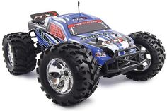 FTX Colossus 1/8th Brushless LiPo Powered Truck - Red (FTX5545) Remote Control Cars, Monster Trucks, Vehicles, Red, Car, Vehicle, Tools