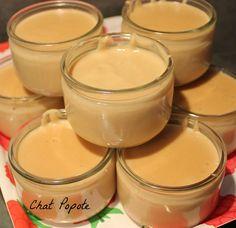 Crème dessert aux spéculoos