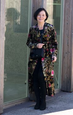 Zara Kimono Over-the-knee Boots Partylook by Lady of Style